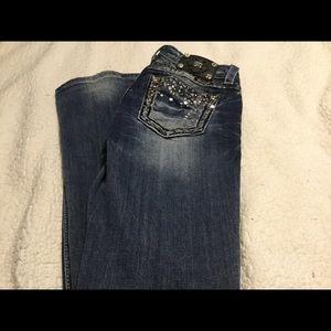 Miss Me Women's Bootcut Jeans. 27 x 33.
